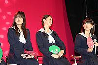 (左から)福田沙紀、武井咲、大島優子