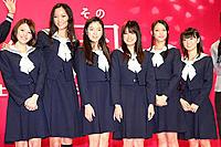 (左から)はねゆり、杏、寺島咲、福田沙紀、武井咲、大島優子