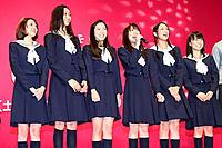 (左から)はねゆり、杏、寺島咲、福田沙紀、武井咲、大島優子、
