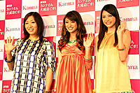 (左から)山崎静代、山田優、中別府葵