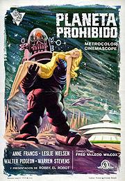 激レアな「禁断の惑星」 スペイン版ポスター「禁断の惑星」