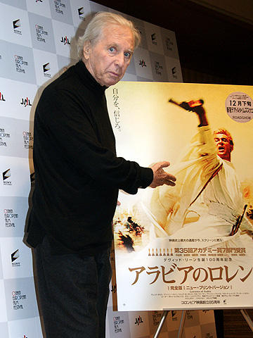 「アラビアのロレンス」の大作曲家モーリス・ジャールが来日