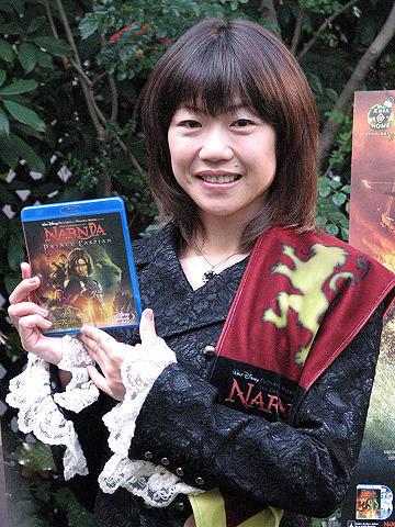 高橋尚子「ナルニア国物語」のPRに登場。女優業には「興味なし」