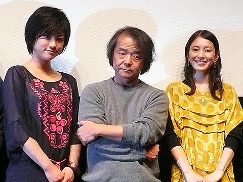藤田陽子と菊地凛子の美しいバトル!押井守総監修「斬/KILL」初日