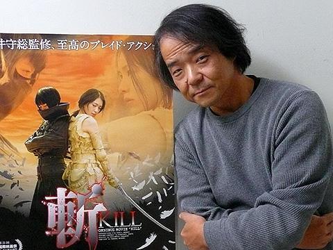 長編の製作も決定!「斬/KILL」押井守監督が菊地凛子を語る