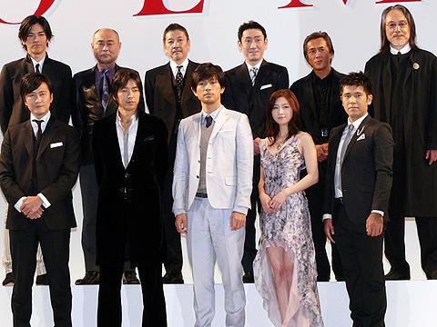 紀里谷和明監督がファン1000人を前に大演説!「GOEMON」完成報告
