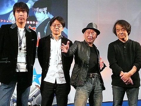 押井守のウンチクが満載!劇場アニメ「宮本武蔵/双剣に馳せる夢」会見