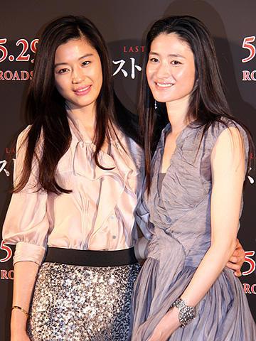 チョン・ジヒョン&小雪、日韓美女が「ラスト・ブラッド」共演で意気投合