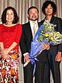 キム兄、モントリオール映画祭出品で男泣き!「ニセ札」初日