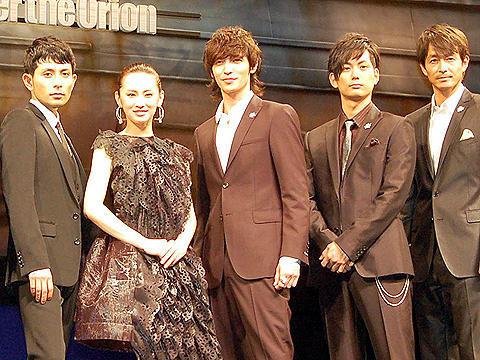 玉木宏&北川景子らが戦争に思いを馳せる。「真夏のオリオン」完成披露