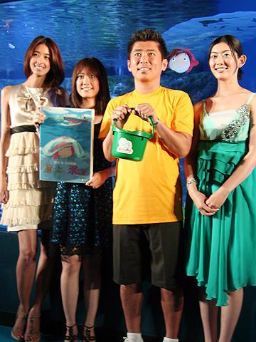 勝俣州和が松本人志へ「結婚は修行」と忠告。「崖の上のポニョ」DVDイベント