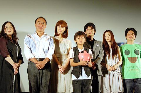 西原理恵子「まさか落書きが映画になるとは!」、「いけちゃんとぼく」初日