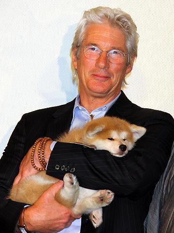 リチャード・ギア語る。「HACHI」の現場はギアよりも犬中心