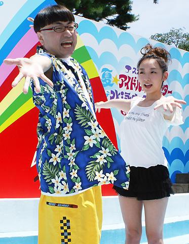 グラドル40人の水着バトルに、加護亜依とイジリー岡田が大興奮!