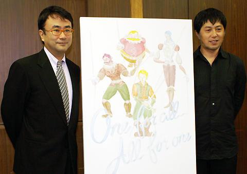 三谷幸喜、念願の人形劇に「新しい大河のつもり」。「新・三銃士」会見