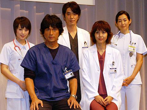 江口洋介「入院で病院見学しました」。ドラマ「救命病棟24時」会見 ...