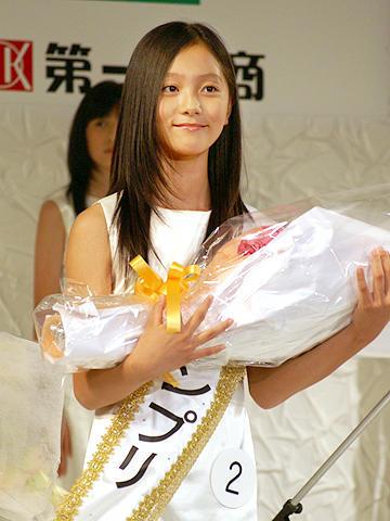 「国民的美少女コンテスト」グランプリは宮崎県の13歳に!