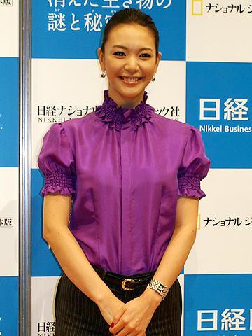 知花くらら、遺伝子は「普通の日本人」。「地球と宇宙の環境科学展」イベント