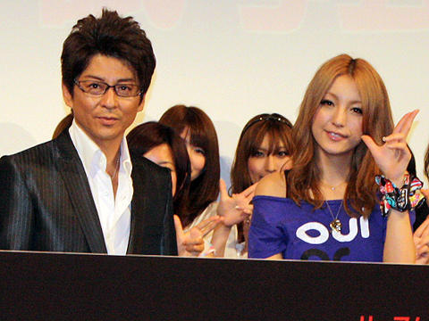 哀川翔「娘の彼氏はまず俺に挨拶」に木下優樹菜も共感。「96時間」イベント