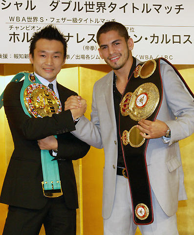 ボクシング世界王者2人がKO勝利を宣言!WOWOWイベント「WOW FES!」