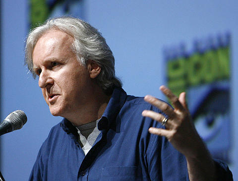 ジェームズ・キャメロン監督の「アバター」のスチル写真が初公開