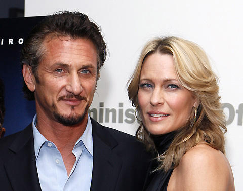 ショーン・ペン夫妻、ついに破局か。妻ロビンが離婚申請