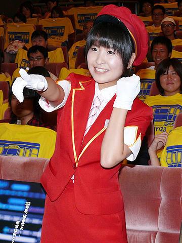 鉄道アイドル、木村裕子は「サブウェイ123/激突」の走行音に興奮!