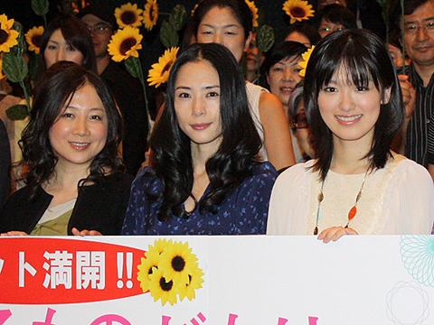 西原理恵子、ヨゴレ役に挑んだ深津絵里に感謝。「女の子ものがたり」初日