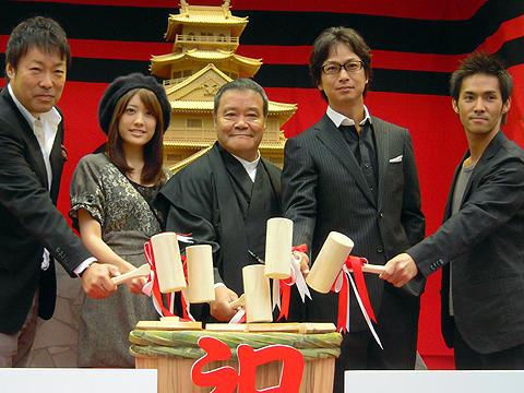 西田敏行、不安払拭で「火天の城」初日にウルウル。興収15億確実の出足