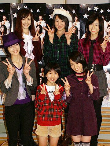 桜庭ななみらアイドル6人でユニット結成。TBSネットドラマ「bump・y」会見