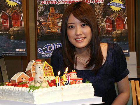 間もなく19歳の福田沙紀、バースデーケーキにご満悦も「誕生日の予定なし」