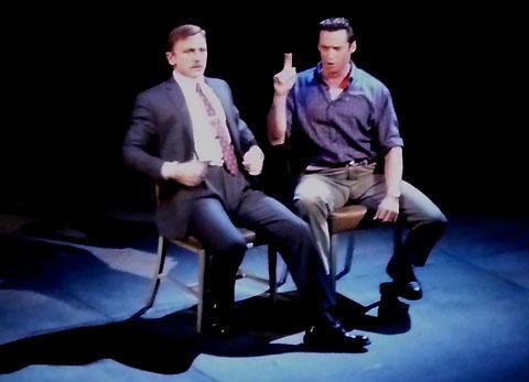 ヒュー・ジャックマンとダニエル・クレイグ共演の舞台写真が公開