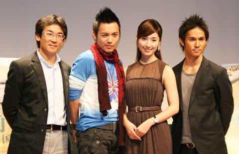 台湾映画に主演、現地で大ブレイクの田中千絵が凱旋会見で喜び爆発