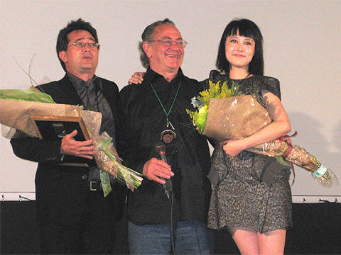 菊地凛子「ナパもワインも大好き!」。加州で「サイドウェイズ」特別上映