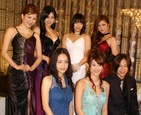 原幹恵「真逆の世界すごく楽しい」。新ドラマ「嬢王」でキャバ嬢役に体当たり