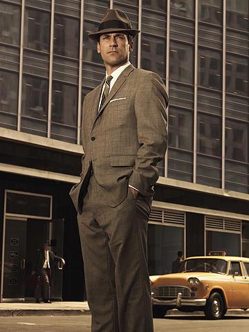 「マッドメン」仕様のスーツ、ブルックスブラザーズが限定発売