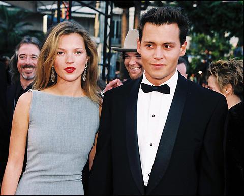 ジョニー・デップ、今年のクリスマスは元恋人のケイト・モスと一緒に過ごす?