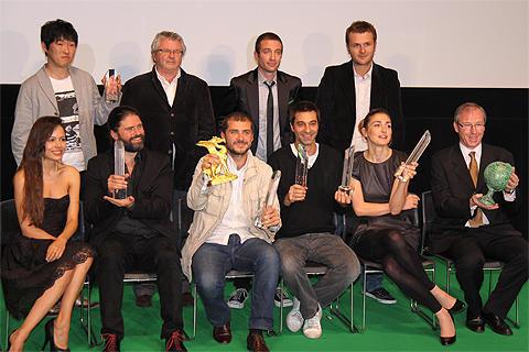 各賞の受賞者たち