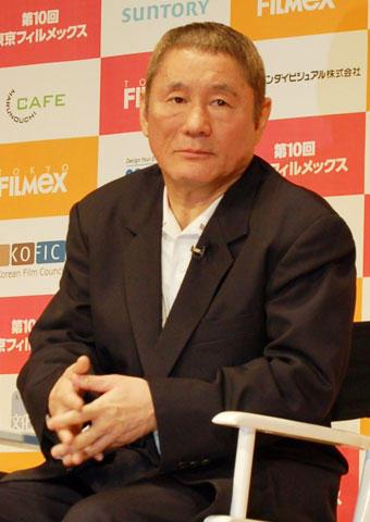 北野武監督、製作中の新作ヤクザ映画が「面白くて仕方ない」
