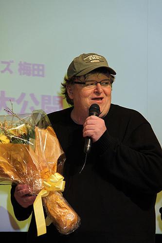マイケル・ムーア、波乱の初来日 「昔の日本に戻って」と熱弁 - 画像4