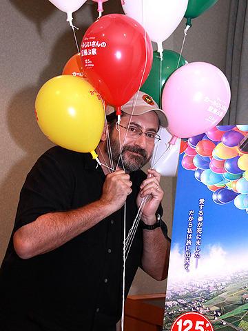 ピクサー新作「カールじいさんの空飛ぶ家」共同監督ボブ・ピーターソンに聞く