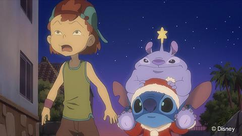 ディズニーランドで大暴れ!?アニメ「スティッチ!」クリスマスSP放送