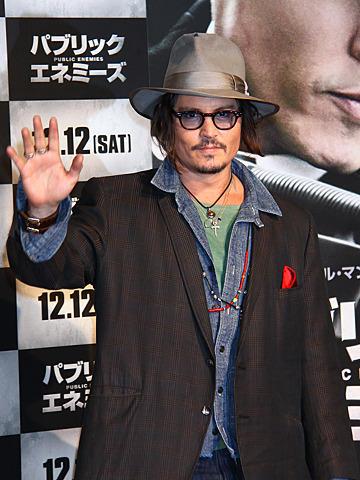 ジョニー・デップ来日 映画は見ずとも「いい評判聞いてる」と自信
