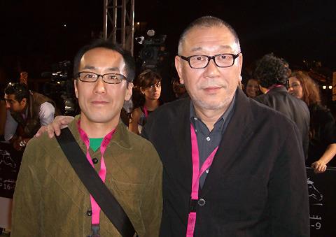 ドバイ国際映画祭レッドカーペットに崔洋一監督が仰天