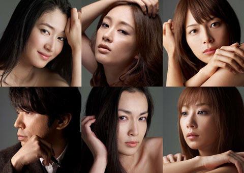 小雪、ハセキョー、相武ら5女優が携帯ドラマに主演