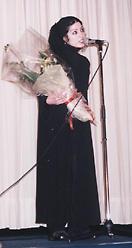 「ブラックボード/背負う人」のサミラ監督、舞台挨拶
