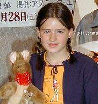 「ポネット」で、日本中を涙で包みこんだ天才少女が初来日!