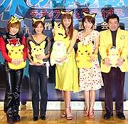 (左より)松本、優香、うの、釈、グッチ祐三