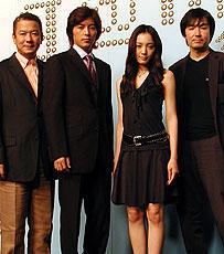 藤木直人&仲間由紀恵のラブシーンに注目。「g@me.」製作発表