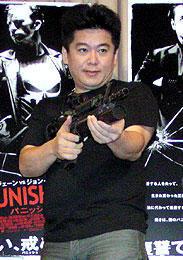 堀江社長が「パニッシャー」を語る。制裁したいのは、あの人?